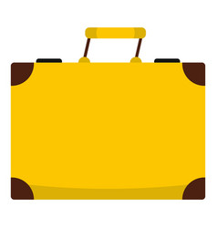 Travel bag icon isolated vector