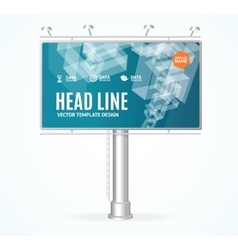 Billboard concept vector
