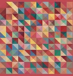 abstract background with colorful pyramids shape vector image