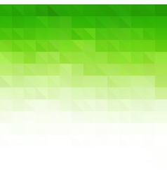 Abstract green geometric technology background vector