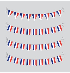 French bunting vector