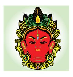 tibet buddha vector image vector image
