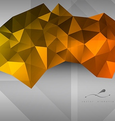 triangles Background vector image vector image