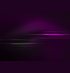 glowing futuristic lines vector image