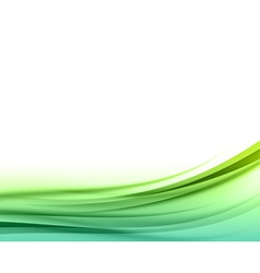 Abstract green back vector
