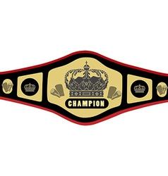 Boxing belt vector