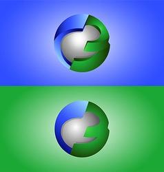 creative design 3d vector image