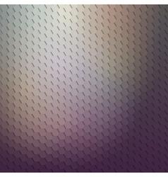 Dark geometric background abstract hexagonal vector image
