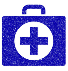 First aid icon grunge watermark vector