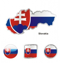 slovakia vector image vector image