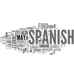 how to find someone to speak spanish with