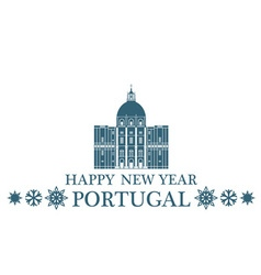 Greeting card portugal vector