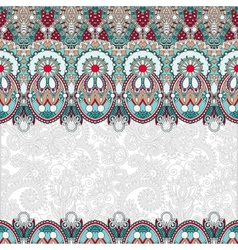 Ornamental floral folkloric background for vector