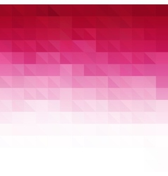 Abstract pink geometric technology background vector