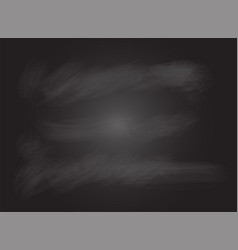 black board or blackboard no frame vector image