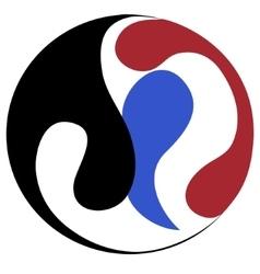 Mandala symbol of harmony and balance vector