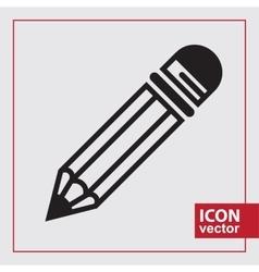 Simple Icon Pencil vector image