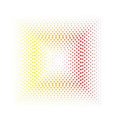 Square spots design element vector