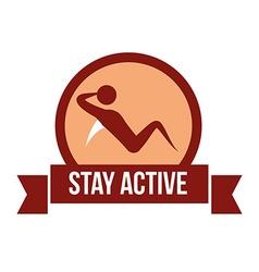 Be active design vector