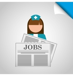 jobs concept design vector image