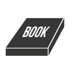 text book isolated icon design vector image