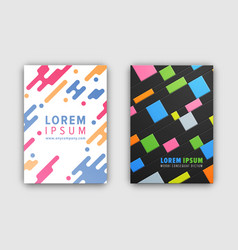 coverings collection of two vector image vector image