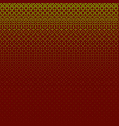 Geometric halftone circle pattern background - vector