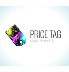 Logo Template Price tag vector image vector image