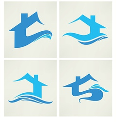 Water home vector