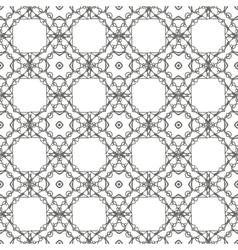 White ornamental seamless line pattern vector