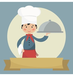 Funny chef vector