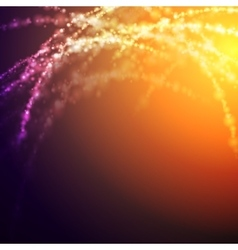Bright glowing shiny light background vector