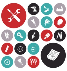 icons for industrial vector image