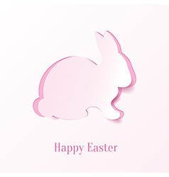 Creative easter bunny vector