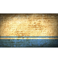 Flags altai republic with dirty paper texture vector