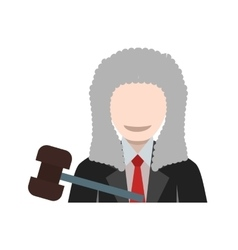 Judge  court vector