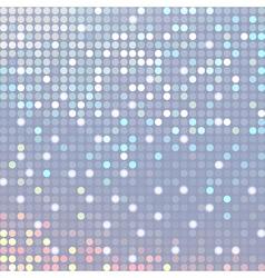 Abstract metallic disco background vector