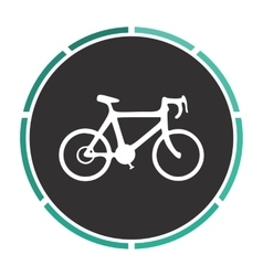 Bicycle icon computer symbol vector