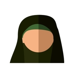 Woman cartoon icon israel culture design vector