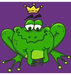 A smiling frog eps10 vector