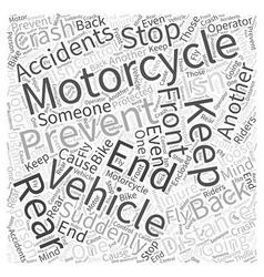 What you can do to prevent motorcycle accidents vector