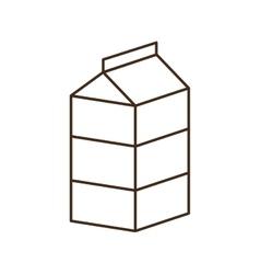 Milk breakfast food menu icon vector