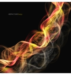Abstract burn swirl background vector