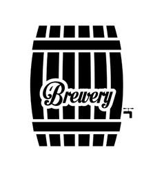 Black barrel icon image design vector