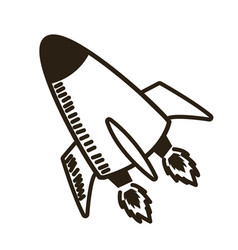Rocket launch start up business innovation image vector