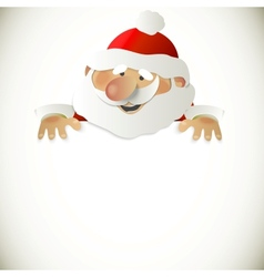 Santa Claus with place for your text vector image