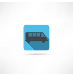 transport icon vector image vector image