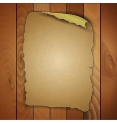 Vintage blank wooden panels vector
