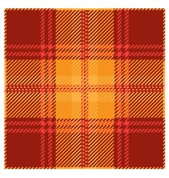 Red tartan plaid pattern design vector
