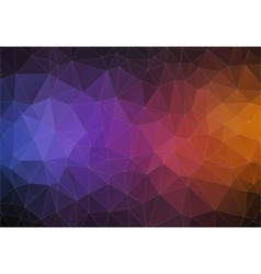 Modern triangle 2d geometric colorful background vector